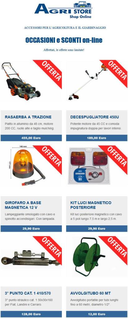 Image newsletter offerte Agristore