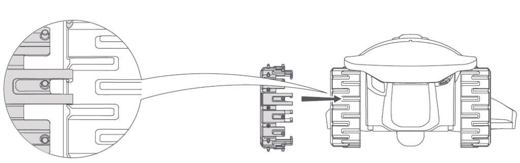 Ruote Robomow con Robogrips
